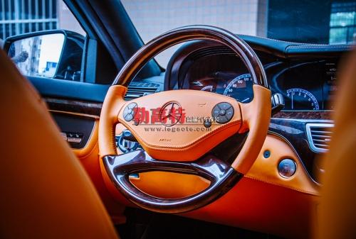 奔驰S400内饰豪华升级改装