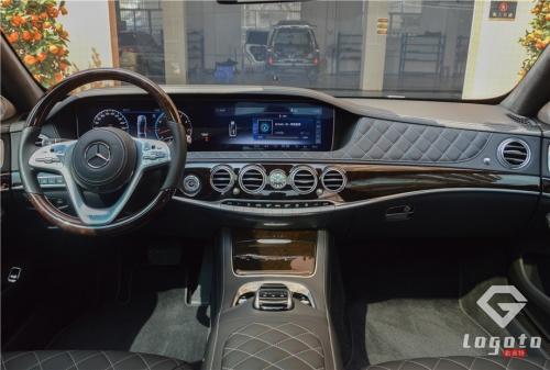 奔驰迈巴赫S450升级S680内饰